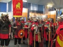 Garda Romană de la Alba Iulia vedeta Târgului de Vacanţe de Cluj
