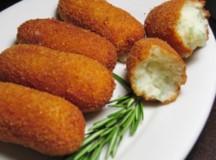 Crochete de cartofi cu legume (de post)