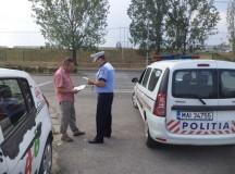 Taximetriştii din Alba verificaţi de poliţişti. Oamenii legi au dat amenzi de 4.870 lei