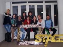Stage Club i-a luat prin surprindere pe studenții albaiulieni.