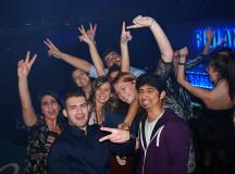 """Galerie FOTO: Studenții """"s-au cules"""" din Stage Club. Petrecere la maxim și o excursie la Arieșeni."""