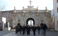 O delegatie a Statului Major al Fortelor Navele Romane in vizita la Alba Iulia