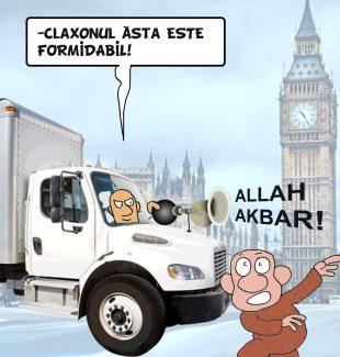 Pamfletul zilei:Atentat cu vehicol la Londra