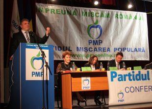 Clement Negrut, reales presedinte al PMP Alba dupa ce a candidat de unul singur