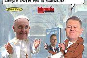 PAMFLETUL ZILEI:Iohannis la Vatican!