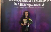 Ramona Gotia din Sebes printre castigatorii Galei Nationale a Excelentei in Asistenta Sociala