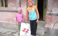 Banca de Alimente, un proiect al Crucii Rosii derulat impreuna cu un lant de magazine