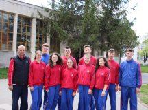 Colegiul militar: Echipa de pentatlon baieti calificata la faza nationala a Olimpiadei Sportului Scolar