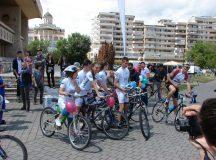 Stafeta ciclista SM la Alba Iulia