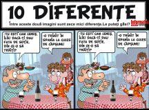 DIVERTISMENT:Gasiti cele zece diferente!