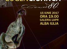 Expozitie aniversara Eugen Cioanca la Alba Iulia