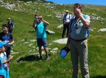 Presedintele Iohannis, drumetie la munte