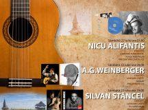Silvan Stancel canta alaturi de Nicu Alifantis si A.G.Weinberger in Maramures