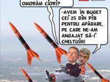 PAMFLETUL ZILEI:Acum de ciori ne doare-n cot / C-avem rachete Patriot!