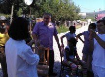 Judetul Alba: Copiii din comunitatile sarace, vaccinati impotriva rujeolei