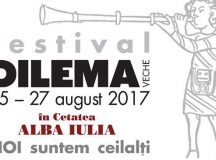 Alba Iulia: Festivalul Dilema Veche 2017
