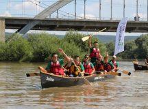 Rowmania la Alba Iulia: Competitie de canotci organizata de Ivan Patzaichin