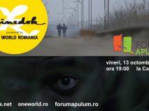 Proiectii: Documentare despre refugiati la Alba Iulia
