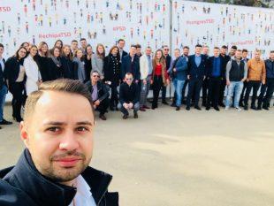Circa 50 de tineri din Alba, la Congresul TSD în urma căruia Gabriel Petrea a fost reales președinte