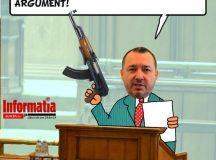 PAMFLETUL ZILEI:Deputatul Mitraliera