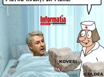 PAMFLETUL ZILEI:Florim Iordache-operat de urgenta la Spitalul Floreasca!