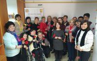 """Beneficiarele Centrului de servicii acordate în comunitate """"Sfântul Meletie"""" Alba Iulia sărbătorite cu ocazia Zilei Internaționale a Femeii"""