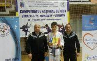 Alexandru Sibișan, sportiv legitimat la CS Unirea Alba Iulia, medaliat cu bronz în finala Campionatului Național de Judo U15