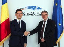 Secretarul general al Consiliului Uniunii Europene, Jeppe Tranholm-Mikkelsen, s-a întâlnit cu ministrul delegat pentru Afaceri Europene, Victor Negrescu