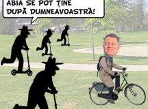 PAMFLETUL ZILEI:Cu bicicleta prin Bucuresti