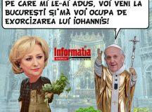 PAMFLETUL ZILEI:Cu castraveti la Vatican