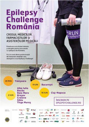 Cel mai mare cros pentru Epilepsie îşi dă startul în Romania