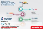 Camera de Comerţ şi Industrie Franceză din România (CCIFER) oferă o serie de facilităţi pentru românii din diaspora în parteneriat cu Ro-Win