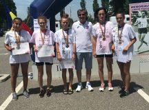 Rezultate extraordinare pentru CS Unirea Alba Iulia la Campionatul Național de Marș – 20 de kilometri, de la Pitești: Cinci sportive au devenit campioane naționale