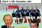 PAMFLETUL ZILEI:Campionatul  Mondial siTezaurul Romaniei
