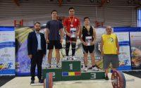 Trei medalii de argint și trei de bronz, obținute de sportivii legitimați la CS Unirea Alba Iulia, la Campionatul Național de Haltere Under 17