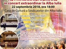 """""""Cântând Centenarului Unirii"""" – concert extraordinar al Corului de copii şi tineret """"Symbol"""" al Patriarhiei Române"""