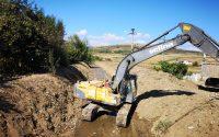 """Regularizare și consolidare pârâu Cricău"""" și """"Regularizare și consolidare Valea Țelna"""", lucrări hidrotehnice care vor fi finalizate până la sfârșitul anului 2018"""