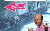 PAMFLETUL ZILEI:Basescu si Moastele Sfintei Parascheva