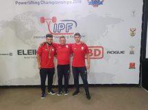 Cătălin Buciuman, sportiv legitimat la CS Unirea Alba Iulia, medalie de bronz la Campionatul Mondial de Powerlifting din Africa de Sud. Laurențiu Avram, pe locul 6