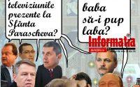 PAMFLETUL ZILEI:Politicienii vin la Sfanta Parascheva ca sa vada poporul cat sunt de credinciosi