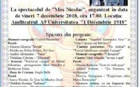 """Spectacol al beneficiarilor Așezământului social  """"Izvorul Tămăduirii"""" din Oarda de Jos"""