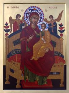 Astăzi la Alba Iulia de la ora 14 soseşte icoana Maicii Domnului PANTÁNASSA – ÎMPĂRĂTEASA TUTUROR