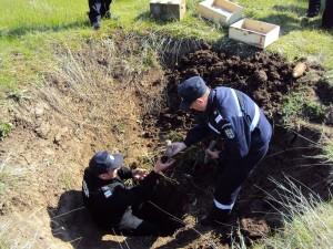 Miercuri distrugeri de muniție pe Dealul Mamut