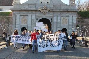 marsul studentilor