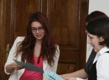 La Universitatea Alba Iulia au fost premiaţi câştigătorii concursului Urme de Condei, ediţia I