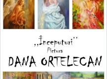 Albaiulianca Dana Ortelecan la prima expoziţie de pictură