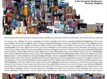 O PREMIERĂ EUROPEANĂ – Inter-Art Aiud duce la Parlamentul European 82 de artişti din 52 de ţări