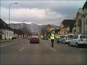 Acţiune de prevenire a accidentelor rutiere, datorate consumului de băuturi alcoolice