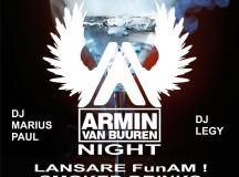 Vineri: Petrecere în cinstea Djay-ului Armin van Buuren la Club Allegria