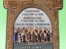 """Festivalul concurs de folclor pentru copii și tineret  ,,Cântec Străbun"""" la a VII-a ediție"""